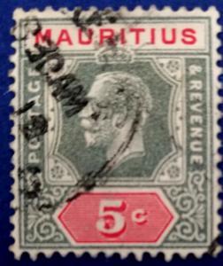 Mauritius Scott # 141 Used (A189)