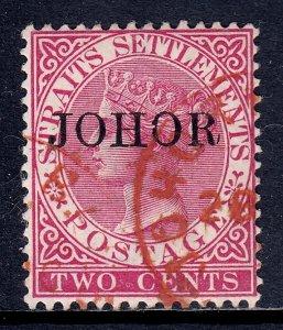 Malaya (Johore) - Scott #9 - Used - SCV $13.00