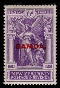 Samoa Scott 140 MNH** New Zeland Victory stamp overprint