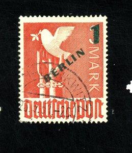 GERMANY #9N67 USED F-VF Cat $16