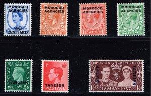 UK Morocco Stamp MINT MNH/OG STAMPS LOT