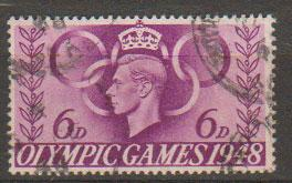 GB George VI  SG 497 Used