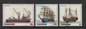 Singapore 1972 Shipping VFU SG 185/7