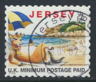 Isle of Man  SG 770a  Used 1999 with copyright symbol  see detail and scan