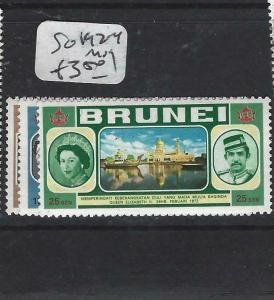 BRUNEI  (PP0905B)   SG 192-4   MOG