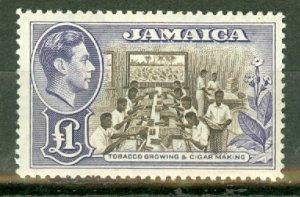 BH: Jamaica 141 MNH CV $45