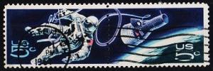U.S.A. 1967 5c(Pair). S.G.1311/1312 Fine Used