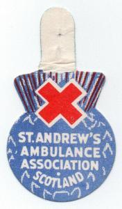 (I.B-CK) Cinderella : Great War Flag Day (St Andrew's Ambulance Association)