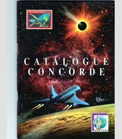 Catalogue Concorde 1996 42 Pages in full color Limited Edition