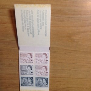 Canada BK69f Type III  Pre stamped   complete booklet