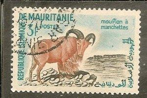 Mauritania   Scott 122   Sheep   CTO