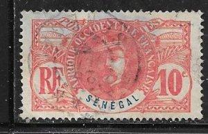 Senegal #61  10c  (U)  CV $1.20
