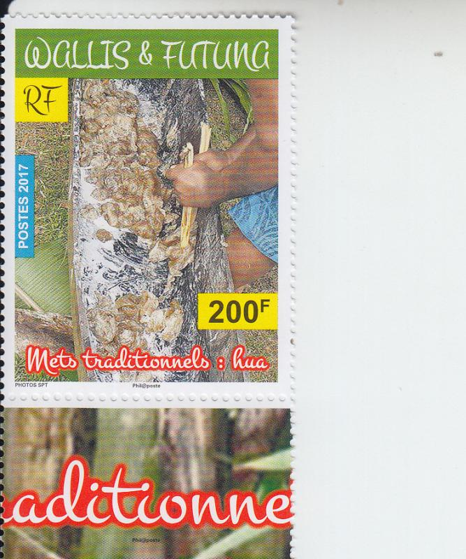 2017 Wallis & Futuna Is Traditional Foods Hua (Scott NA) MNH
