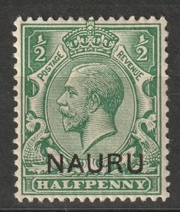 Nauru 1916 Sc 1 MLH*