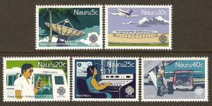 Nauru #268-72 NH Communications