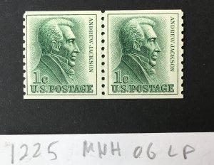 US 1225 MNH LP.  CV $4.00