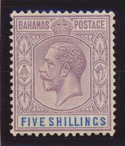 Bahamas Stamp Scott #83, Mint Hinged - Free U.S. Shipping, Free Worldwide Shi...