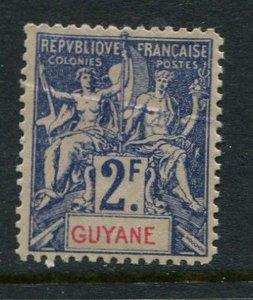 French Guiana #50 Mint