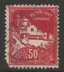 ALGERIA 50 USED Z5764-1