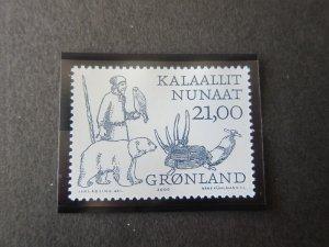 Greenland 2000 Sc 361 Bird MNH