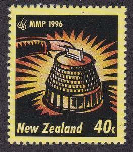 New Zealand # 1384, Beehive Ballot Box,  NH
