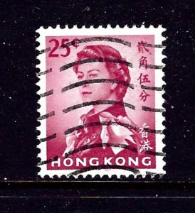 Hong Kong 207 Used 1962 issue