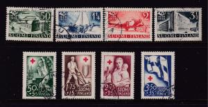 Finland x 2 early sets good/fine used