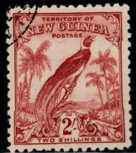 New Guinea Scott 42 Bird of Paradise 1932  2sh  Used CV $19