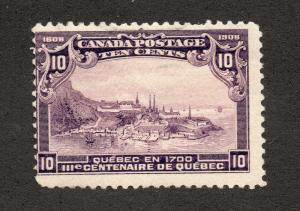 Canada - Unitrade# 101 MNH / VG/F  - Lot 0519025