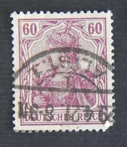 Postage stamp, Germany, №8-(7G-1IR)