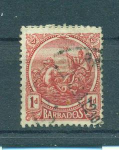 Barbados sc# 154 used cat value $.35