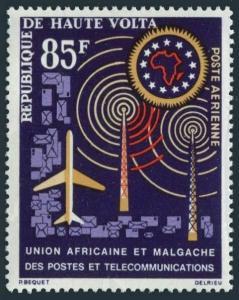 Burkina Faso C9,MNH.Michel 137. African Postal Union,1963.