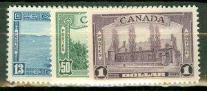 B: Canada 241-5 MNH CV 225