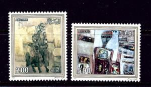 Algeria 829-30 MNH 1987 Paintings
