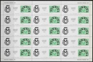 CANADA - PEMBINA - WINNIPEG LOCAL POST FULL SHEET #1 (1975) MNH