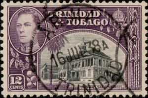 TRINIDAD & TOBAGO - 1938 (Jul 16) - ARIMA/TRINIDAD CDS on SG252 - Ref.831b