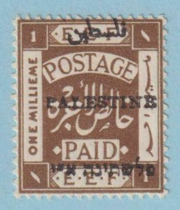 PALESTINE 15  MINT HINGED OG * NO FAULTS EXTRA FINE !