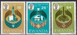 Rwanda #796-8  MNH (Z7303)