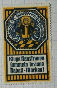 Sparverein Brand German Clever Housewives German Brand Poster Stamp Ads