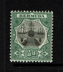 Bermuda SG# 35, Mint Very Lightly Hinged - S5153
