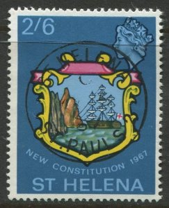 STAMP STATION PERTH St Helena #196 Badge of St Helena 1967 VFU