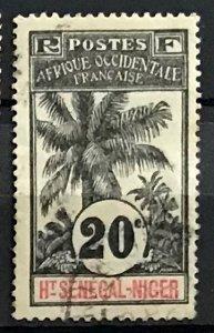 Upper Senegal & Niger #7 Used CV$5.50 Oil Palms