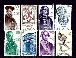 Spain 1377-84 MNH 1964 set