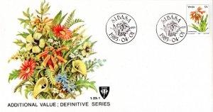 Venda - 1985 Flowers 12c FDC SG 14c