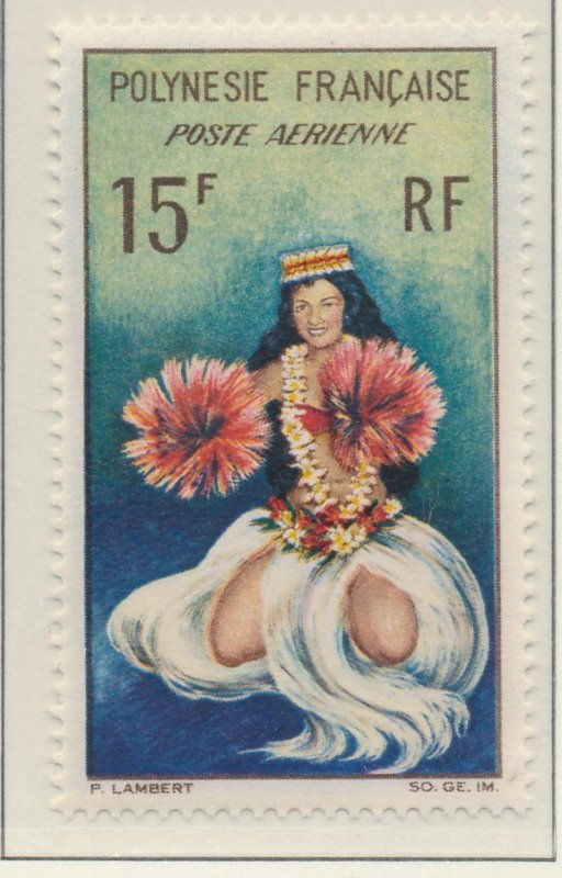 French Polynesia Stamp Scott #C-30, Mint Never Hinged - Free U.S. Shipping, F...