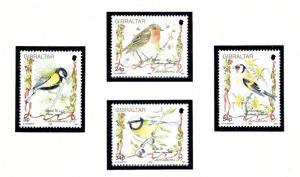 Gibraltar 668-71 MNH 1994 Birds