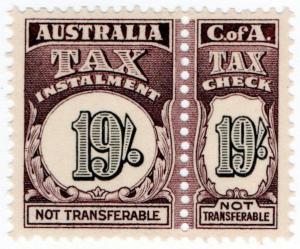(I.B) Australia Revenue : Tax Instalment 19/-