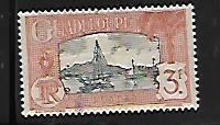 GUADELOUPE, 134, MINT HINGED,  HARBOR SCENE