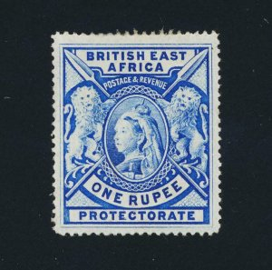 BRITISH EAST AFRICA 1901, 1Rs BRIGHT ULTRA, VF MLH SG#92b CAT£550 (SEE BELOW)