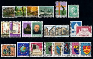 Luxembourg Luxemburg 1982 Complete Year Set MNH